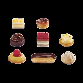 """Пирожные Птифур Сахарный"""" Traiteur de Paris Франция, 600гр"""