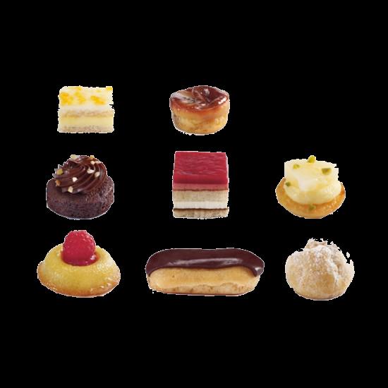 """Пирожные Птифур Сахарный"""" Traiteur de Paris Франция"""