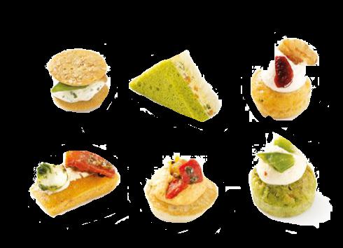 Канапе вегетарианские Traiteur de Paris Франция