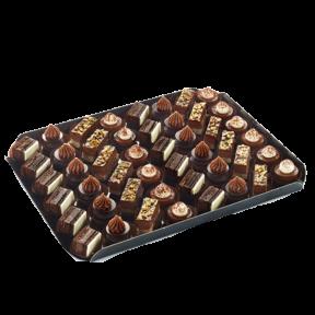 Пирожные Птифур Страсть Шоколадный Traiteur de Paris Франция, 680гр