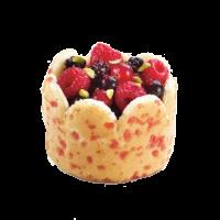 Шарлотка с красными фруктами Traiteur de Paris, 16*80 гр