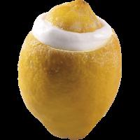Лимонный сорбет во фрукте лимон, 80 гр