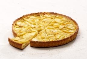Тарт с норманскими яблоками, 10 кусков*75гр.