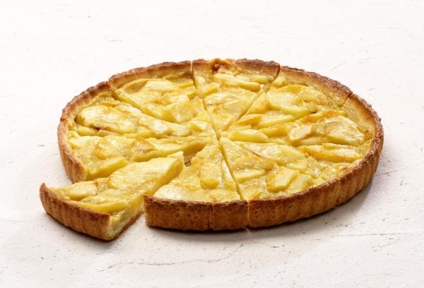 Тарт с норманскими яблоками