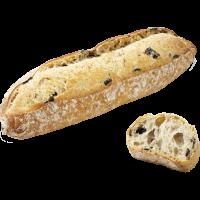 Булочка длинная с маслинами и тмином Bridor Франция, 50 гр
