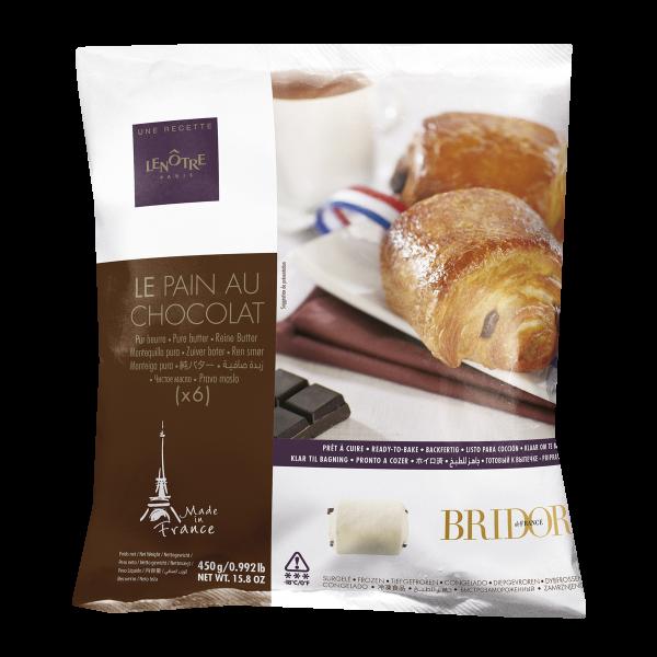 Булочка с шоколадом LENOTRE Bridor Франция