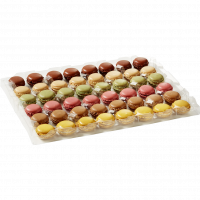 Набор пирожные макарон Bridor Франция, 2х48шт
