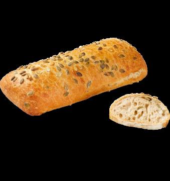 Хлеб полбяной с зёрнами тыквы и подсолнечника органический БИО Bridor Франция , 450гр