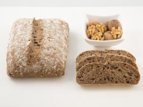 Хлеб сгрецким орехом (Лалос) Bridor Франция, 400гр