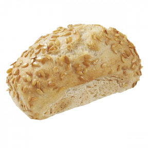 Булочка с семенами льна без глютена Bridor Франция, 45гр