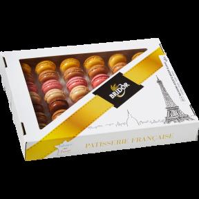 Набор пирожные макарон Bridor Франция (576гр), 48шт