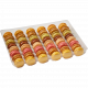 Набор пирожные макарон Bridor Франция (576 гр), 48шт