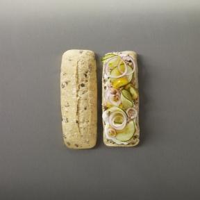 Хлеб для сэндвича с маслинами Bridor Франция, 100 г