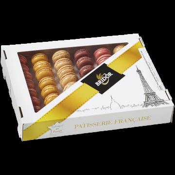 Набор пирожные макарон Bridor Франция (576 гр.), 48 шт