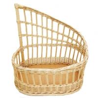Багетница плетеная овальная (500х320х(210-500))мм