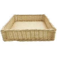 Короб плетеный (400х400х100)мм