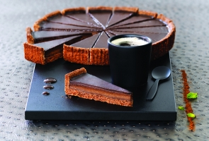 Мини-тарт с шоколадом, 16 кусков * 18гр