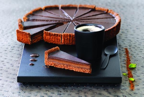 Мини-тарт с шоколадом