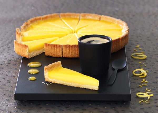 Мини-тарт с лимоном