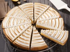 Лимонный тарт с меренгой, 10 кусков * 100гр