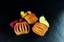 Корзиночки с фруктами в ассортименте Bridor Франция, 40гр