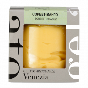 Сорбет Michielan Италия - манго, 380гр. в пластиковой уп.