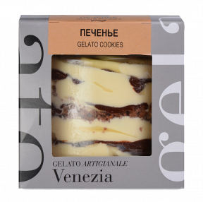 Мороженое Michielan Италия печенье, 380гр. в пластиковой уп.