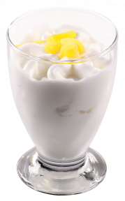 Мороженое Michielan Италия венецианский лимон, 80гр. в стеклянном стаканчике