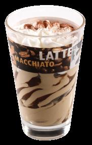 Мороженое Michielan Италия латте, 98гр. в стеклянном стаканчике
