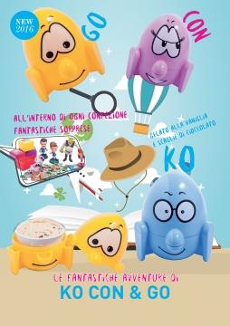 Мороженое Michielan Италия - стратичелла, 60гр. в бумажном стаканчике, в детской пластиковой уп.