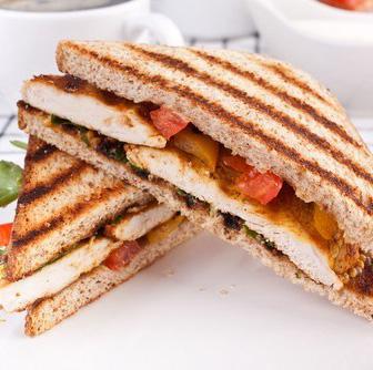 Куриные сэндвичи с тостовым хлебом
