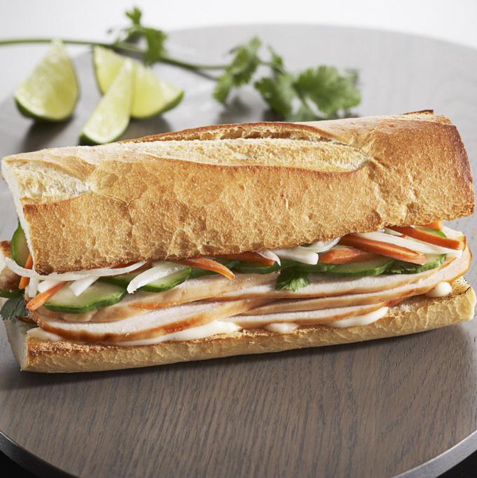 Сэндвич «Бан Ми» по-японски